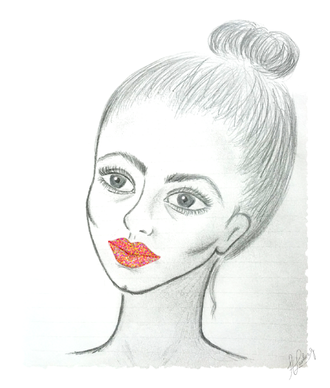 Sparkle Lips illustration