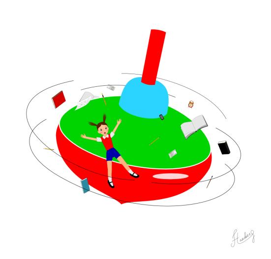 Spin illustration Inkscape